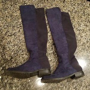Unisa Navy Blue Boots